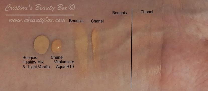 Foundation Battle Bourjois Health Mix Foundation Vs Chanel