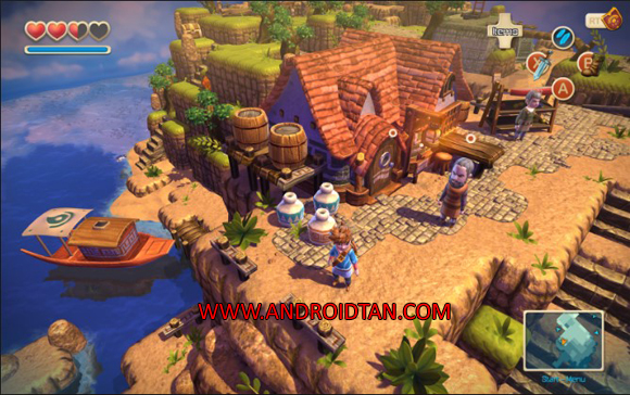 Free Download Oceanhorn Mod Apk + Data v1.1 (Unlocked/Unlimited Money) Full Terbaru 2017 Gratis