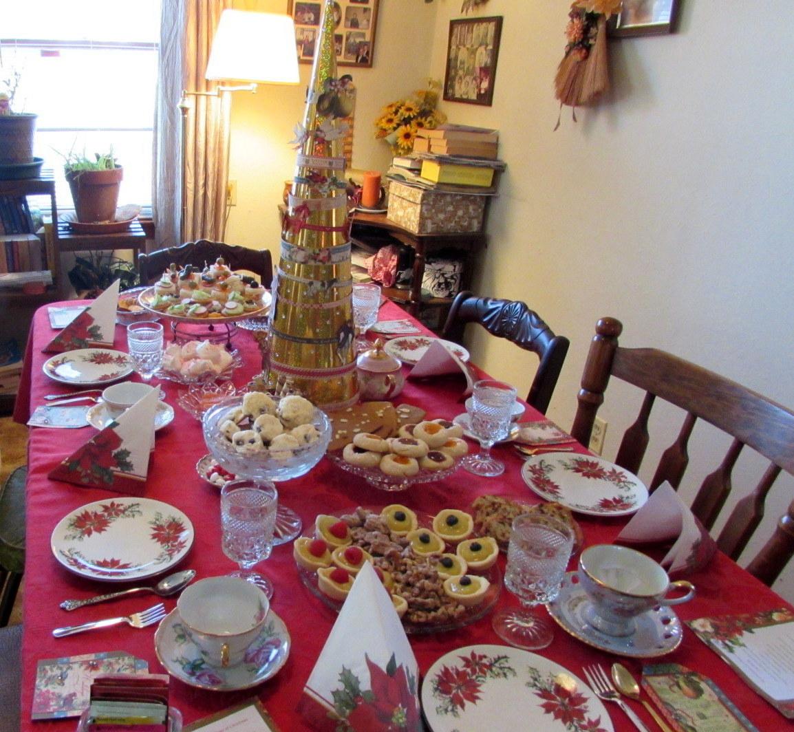 Christmas Tea Party Ideas: Deborah Vogts