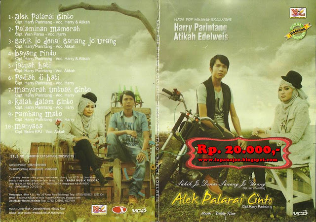 Harry Parintang & Atikah Edelweis - Alek Palarai Cinto (Album Nada Pop Minang Exclusive)
