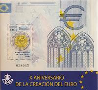 X ANIVERSARIO DE LA CREACIÓN DEL EURO