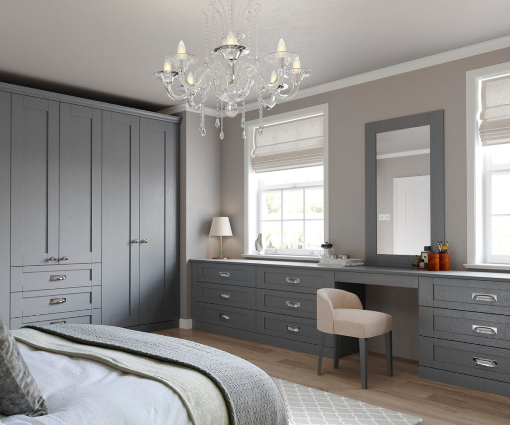 Kitchens Direct Kitchens Direct Ni Finsbury Dust Grey Bedroom
