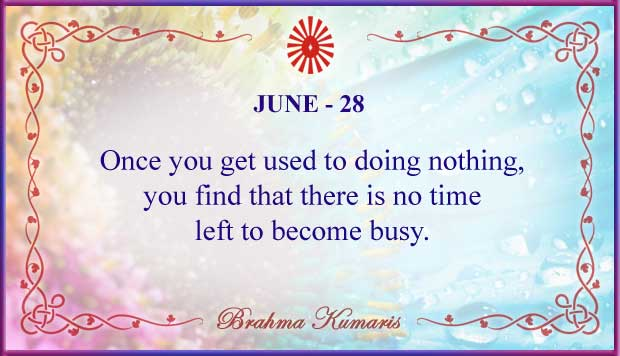 Thought For The Day June 28