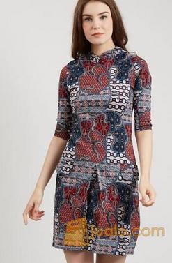 baju batik modern kediri jawa timur