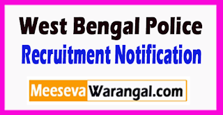 West Bengal Police Recruitment Notification 2017