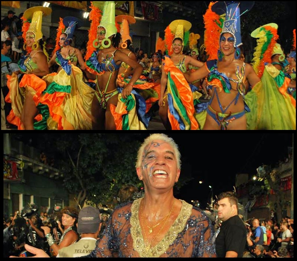 Desfile de Llamadas.Triniboa. Montevideo. 2011.