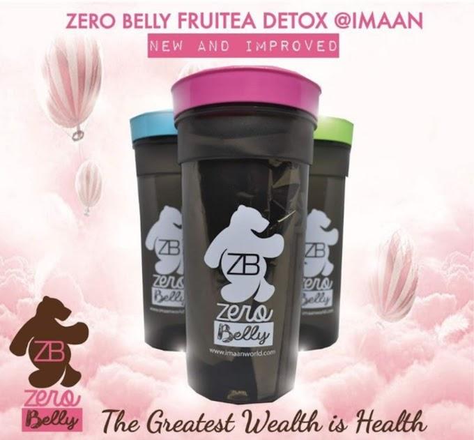 Zero Belly Fruitea Detox Melawaskan Dan Badan Terasa Ringan