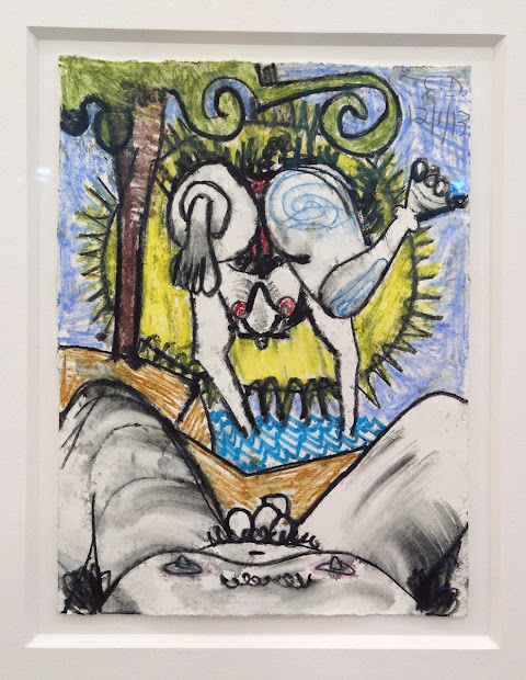 Art Carroll Dunham Frieze With Gladstone