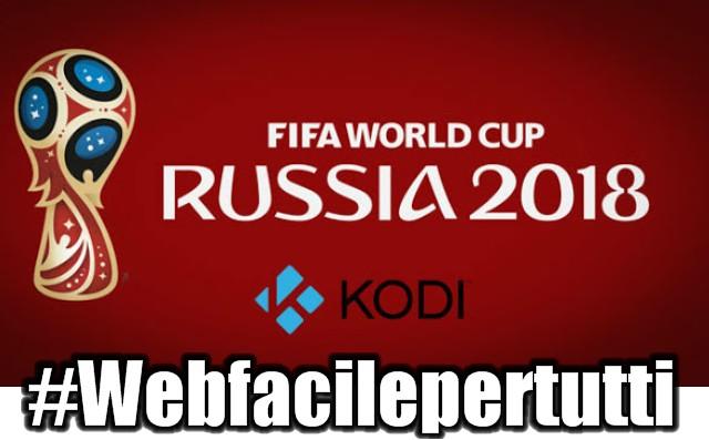 Lista dei migliori add-on Kodi per vedere le partite dei Mondiali Russia 2018