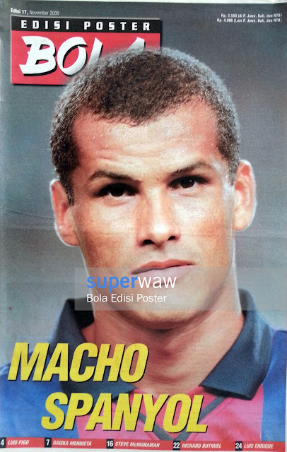 Bola Edisi Poster - MACHO SPANYOL