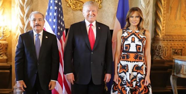 El presidente Danilo Medina en su reunión el pasado viernes con su homologo de Estados Unidos Donald Trump,  junto a otros cuatro jefe de estado de la región del Caribe, solicitó cuatro cosas.