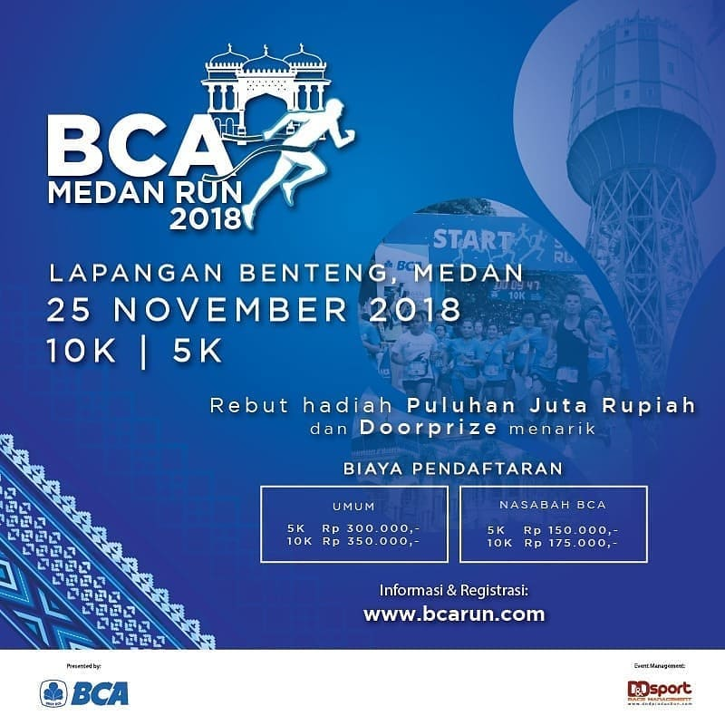 BCA Medan Run • 2018