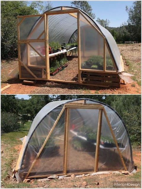 8 Functional Greenhouses Beside Your House DIY 4