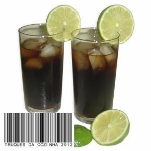 Cuba com rum branco
