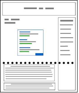 Prácticas recomendadas para la ubicación del anuncio de Adsense