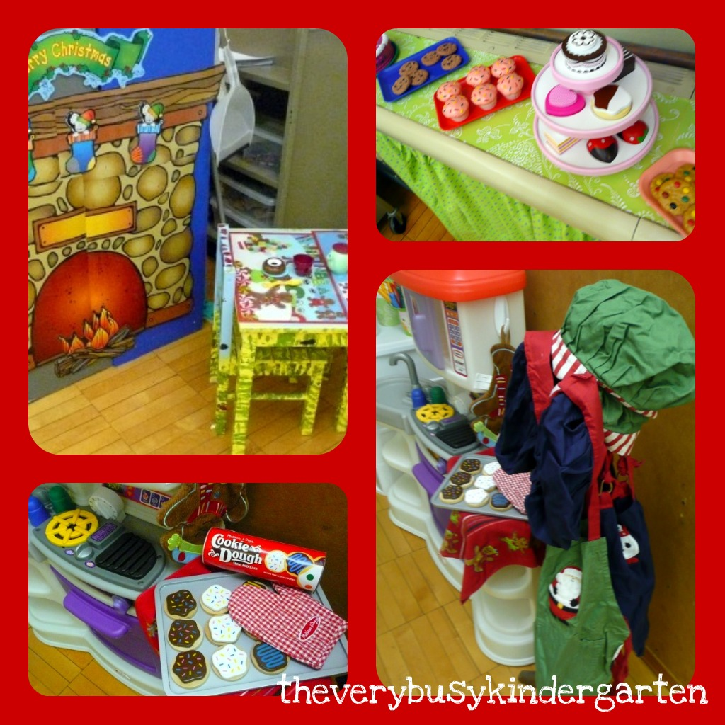The Very Busy Kindergarten Gingerbread House