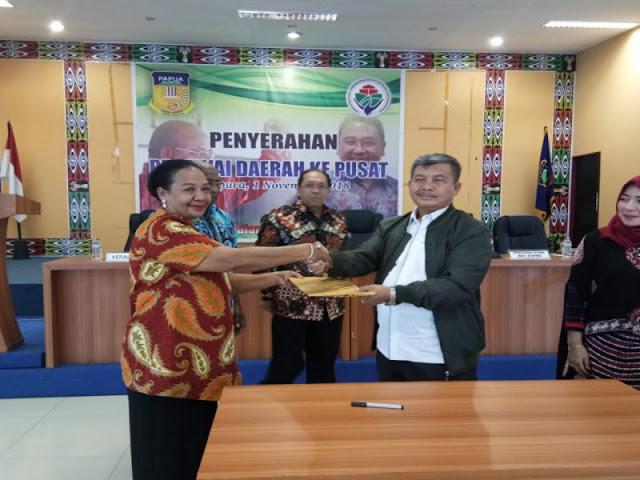 BKD Papua Serahkan 18 ASN ke Balai Latihan Masyarakat Jayapura