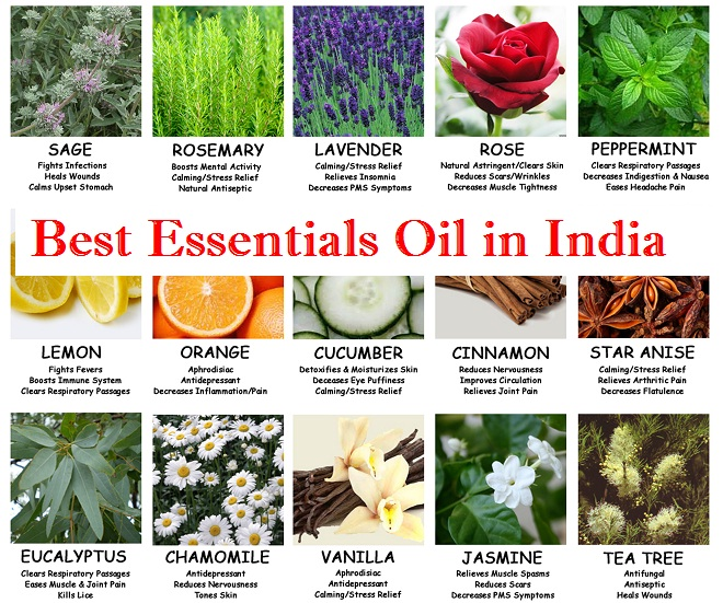 Best Essential Oil in India
