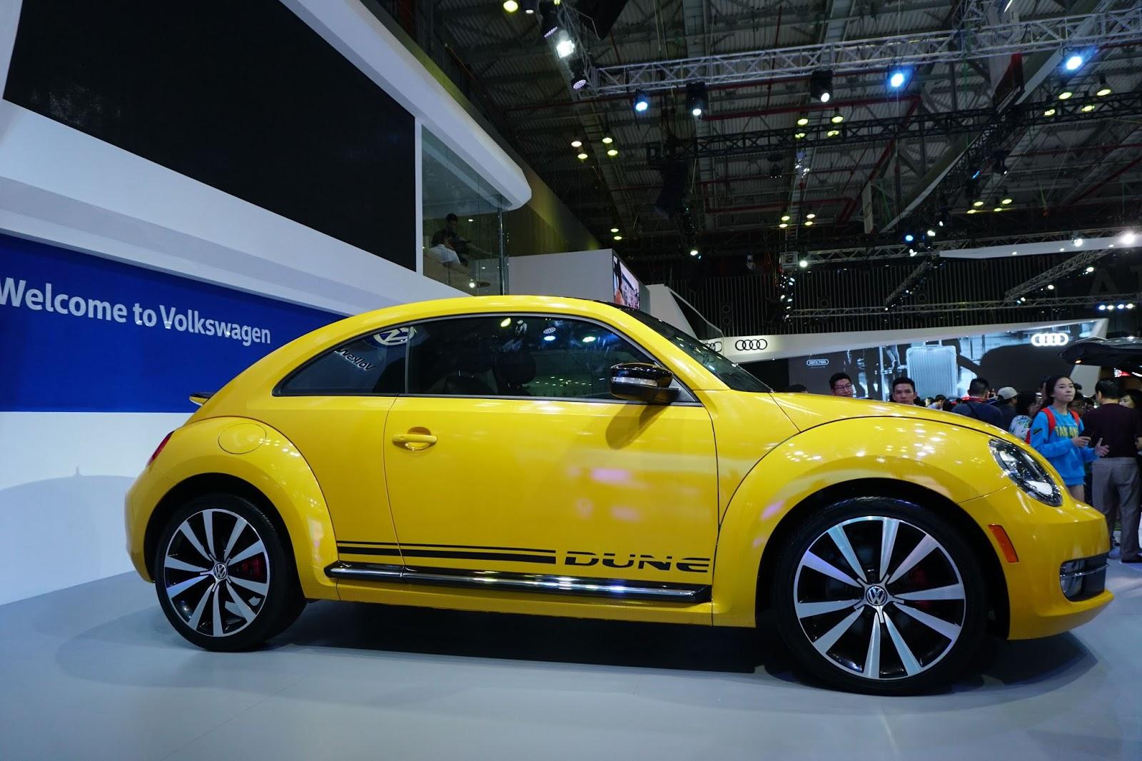Volkswagen Beetle Dune 2016 là chiếc xe dễ thương nhất tại VIMS 2016