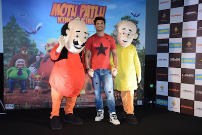 Motu Patlu  all set for its homegrown 3D stereoscopic animated movie