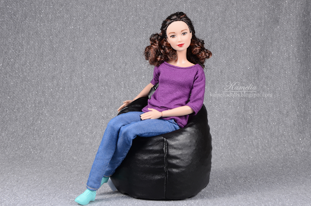 Bean bag for doll