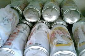 Gelar bebida com papel molhado (Imagem: Reprodução/Internet)