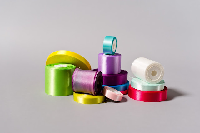 pile of ribbon
