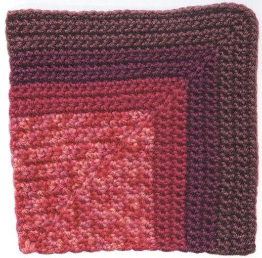 Patrón #1226: Carpeta la Vie en Rose a Crochet