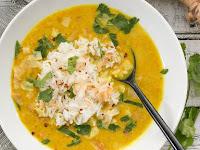 Golden Coconut Lentil Soup Recipe