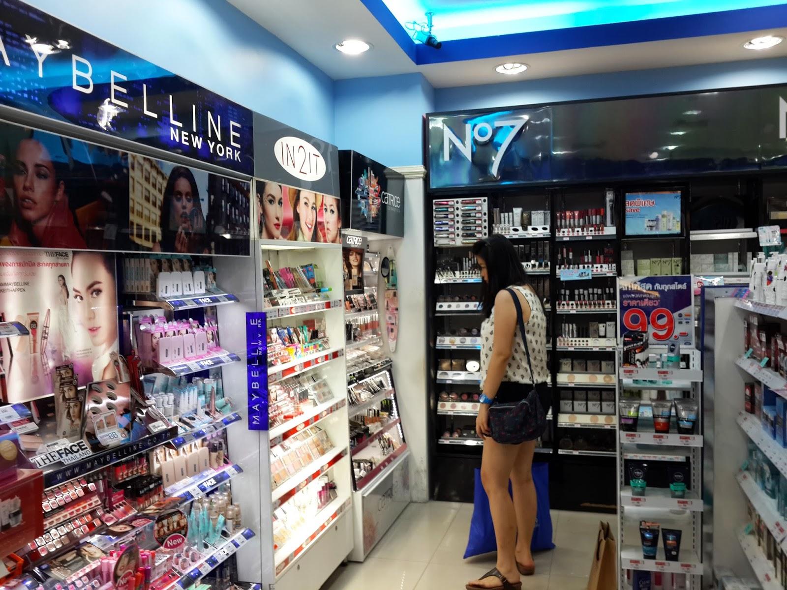 Boots drugstore makeup bangkok