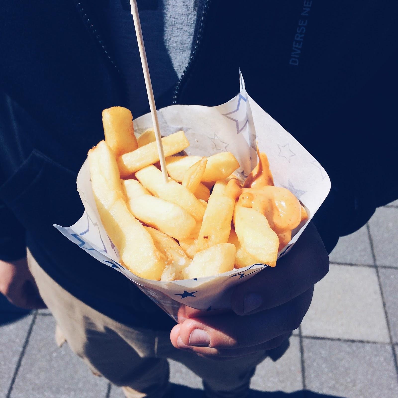 Frytki belgijskie z food trucka FrytkaBelgijska.pl