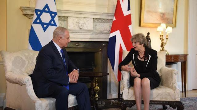 May vuelve a respaldar acuerdo nuclear con Irán ante Netanyahu