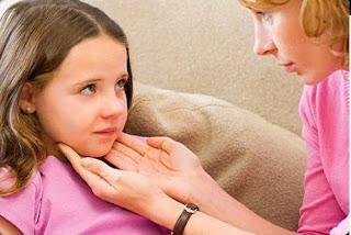 ciri ciri kelenjar getah bening pada anak