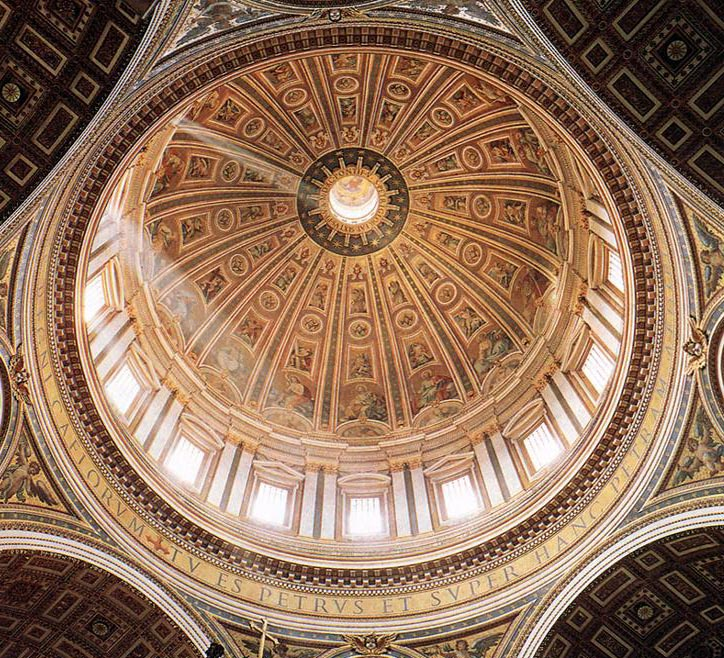 Culture Mechanism Michelangelo S Redesign Of Dome