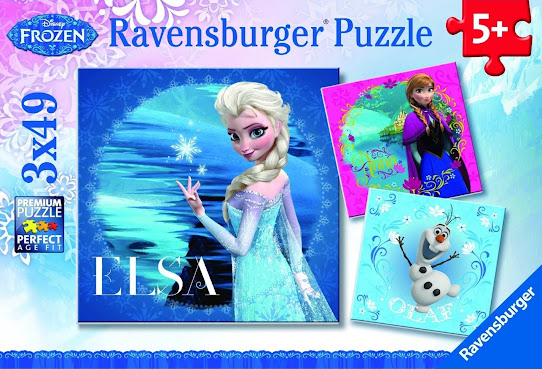Anyone who loves Disney's Frozen will love this or any of the other Frozen-themed jigsaw puzzles, which are available for puzzlers from 3 to 103!