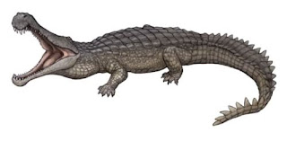 Sarcosuchus dinosaurus paling berbahaya