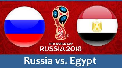 Live Streaming Russia vs Egypt Piala Dunia 20.6.2018