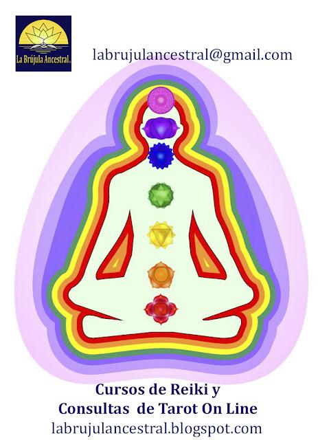 Capas del Aura y Chakras principales