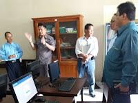 Monitoring Persiapan UNBK 2017 dipimpin ketua Komisi D DPRD Sleman Nafsir Fauzi, SH