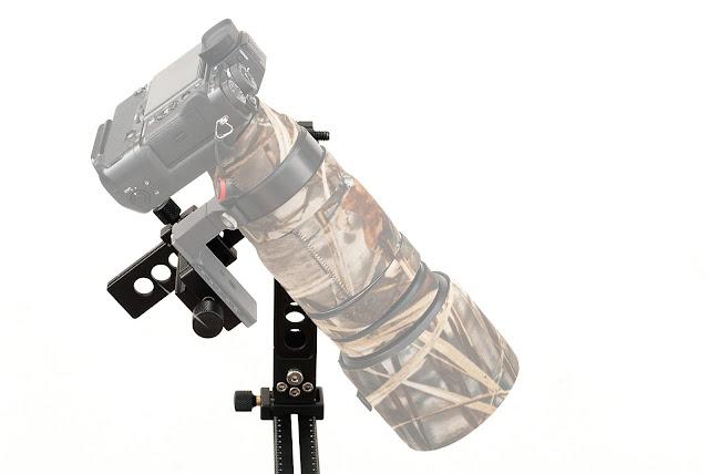 Hejnar Photo Modular Gimbal Head w/ Telephoto Lens