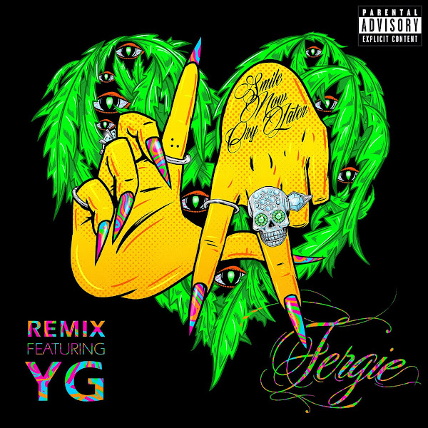 Fergie - L.A. LOVE (lala) (Remix) [feat. YG] - Single Cover