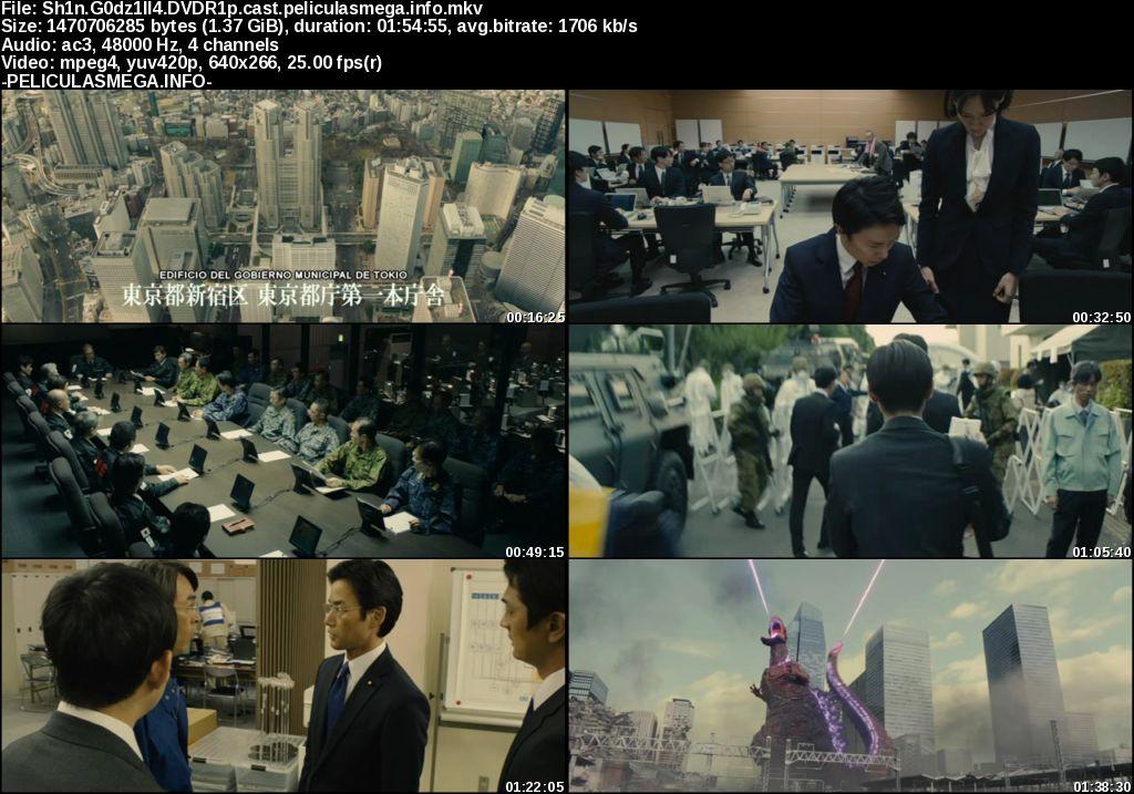 Descargar Shin Godzilla Castellano por MEGA.