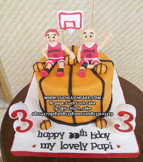 Slamdunk Anime Basketball Birthday Cake