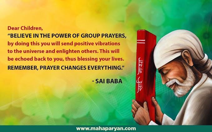 Baba's Grace During Mahaparayan