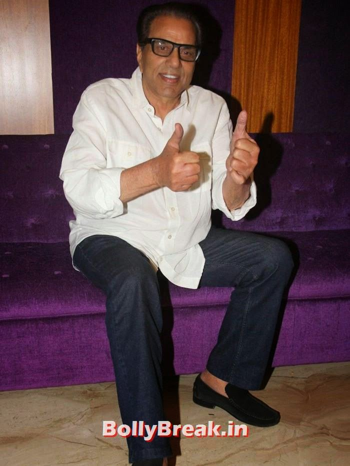 Dharmendra, Pics from Punjabi Movie 'Double Di Trouble' Special Screening