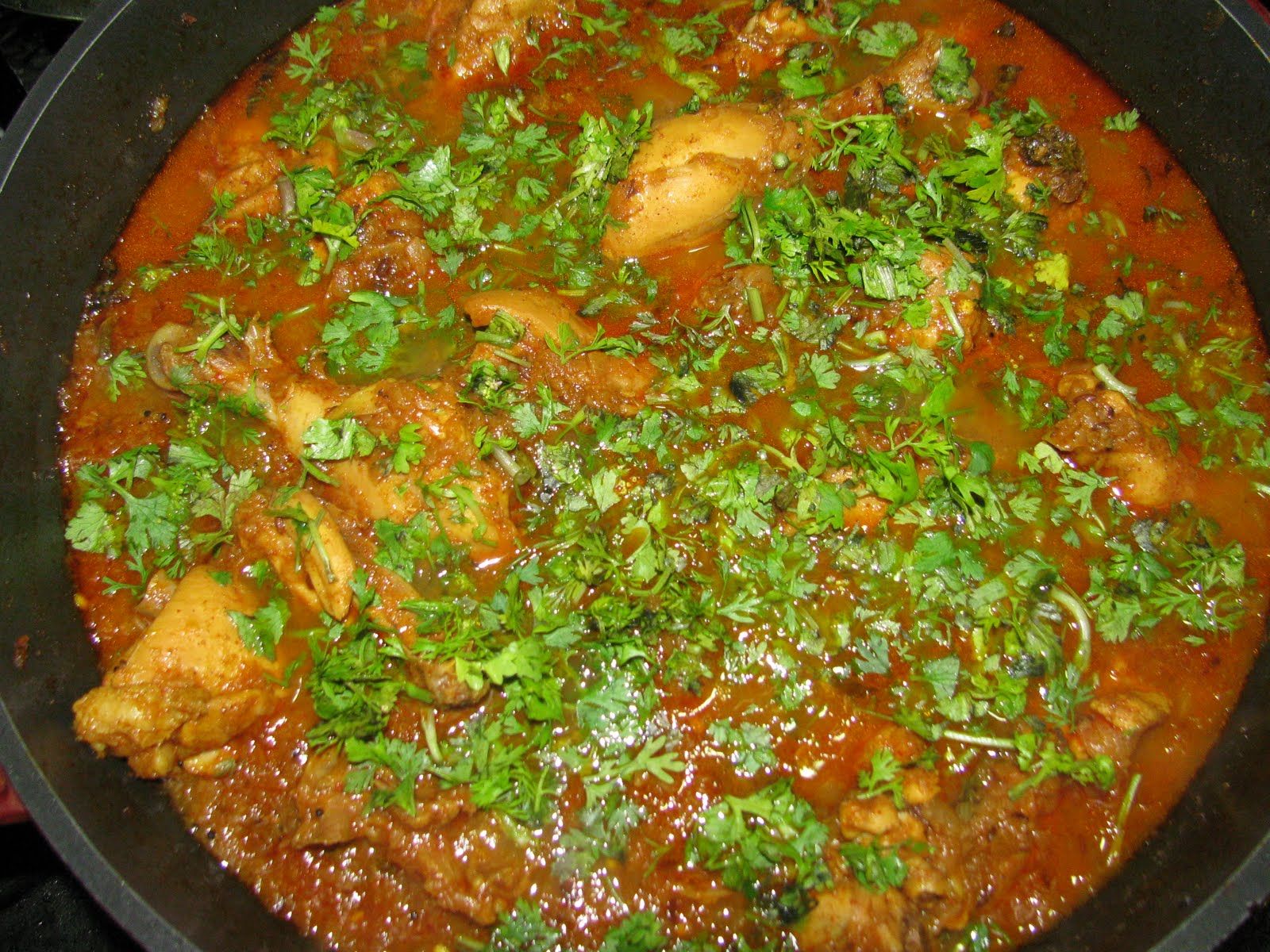 Food Slice: Indian Chicken curry