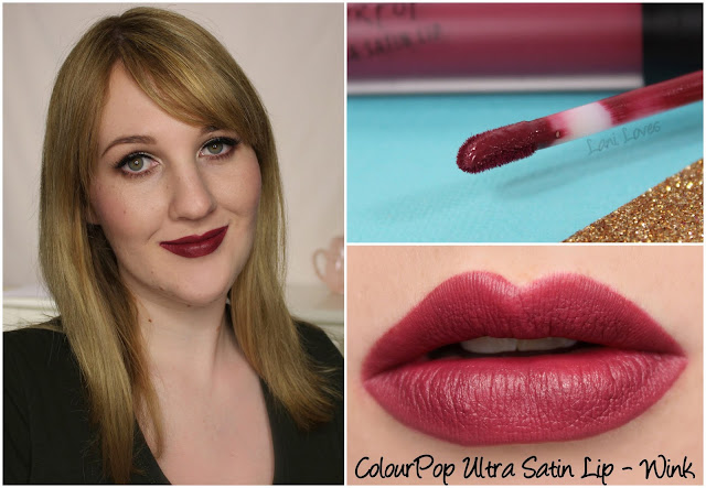 ColourPop Ultra Satin Lip - Wink swatch