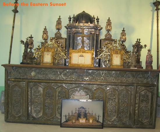 Cebu Cathedral Museum pre-Vatican II altar