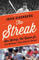 The streak cover showing gehrig at top and ripken at bottom
