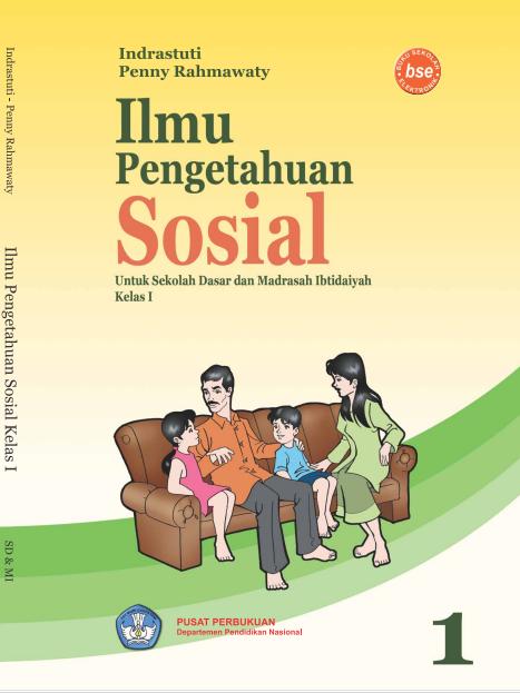 Ilmu Pengetahuan Sosial untuk sd kelas 1